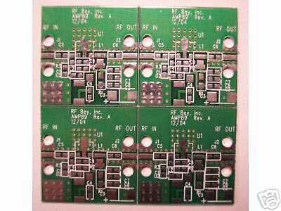 Develop Pcb For Rf Mmic Amplifier That Has Sot-89 Package Qty.4