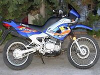 KYMCO STRYKER 125CC X REG ENDURO BIKE 4 STROKE IN BLUE