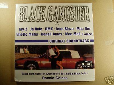 Black Ganster - Original Soundtrack - LP Jay-Z DMX New (Black Ganster)
