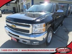 2013 Chevrolet Silverado 1500 WORK READY LT MODEL 6 PASSENGER 4X