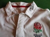 Child's England rugby top