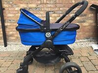 Icandy peach 3 cobalt blue travel system