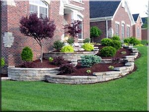 Custom landscaping and garden builds. Shawn's Call contracting London Ontario image 1