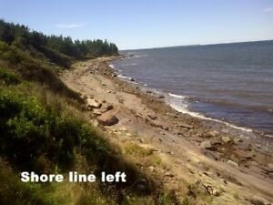 Ocean front building lot in Malagash  1.1 Acre