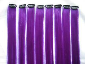 Purple hair extensions ebay dark purple hair extensions pmusecretfo Images
