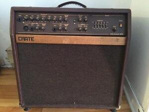 Crate Acoustic amplifier
