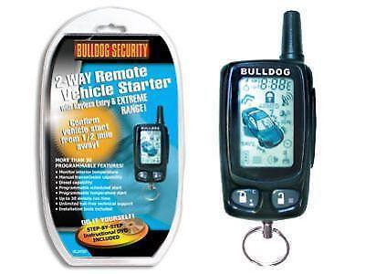 on Bulldog Security Remote Start