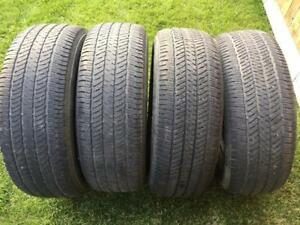 4 Bridgestone Dueler H/T - 275/65/18 - 60% - 70% - $120 For All 4