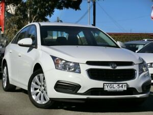 2016 Holden Cruze JH Series II MY16 Equipe Heron White 6 Speed Sports Automatic Sedan Condell Park Bankstown Area Preview