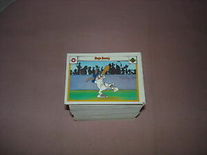1990 The Upper Deck, Looney Tunes Series One Card Set #1-594