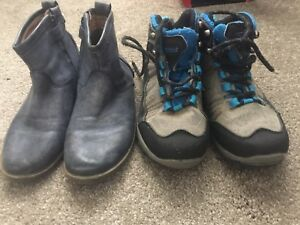 Boys size 1 shoes x2 Craigmore Playford Area Preview