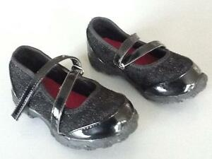 Toddler girl black dress shoes size 7