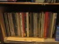 Collection of around 100 vinyl records