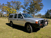 2001 Ford Courier PE GL Cab Chassis Crew Cab 4dr Man 5sp 4x4 2.5D Karana Downs Brisbane North West Preview