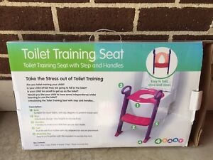 Toilet Training Seat - Pink/Purple Brunswick West Moreland Area Preview