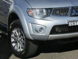 2013 Mitsubishi Triton MN MY13 GLX-R Double Cab Silver 5 Speed Manual Utility Parramatta Parramatta Area Preview