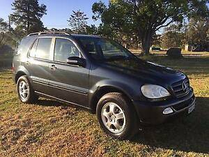 2003 Mercedes-Benz ML Wagon Registered till May 2017 Caves Beach Lake Macquarie Area Preview