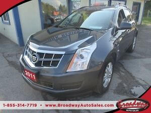 2011 Cadillac SRX LOADED 'FAMILY MOVING' 5 PASSENGER 3.0L - V6..