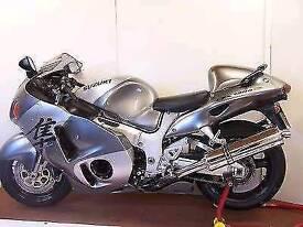 Suzuki gsx1300r hayabusa with extras