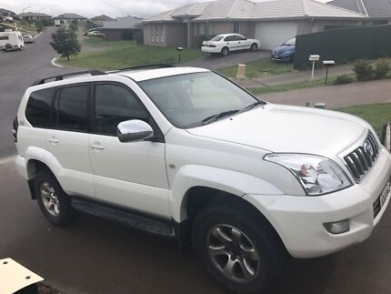 Toyota Prado grande 05 top of the line