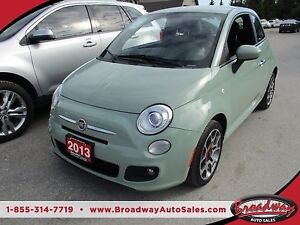 2013 Fiat 500 'GREAT VALUE' 5-SPEED MANUAL 'SPORT - EDITION' 4 P