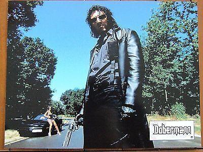 Vincent cassel  lobby card photo exploitation dobermann