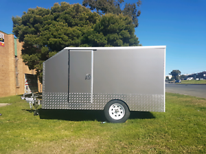 ASB Trailers glossy motorbike  and enclosed  trailers Ingleburn Campbelltown Area Preview