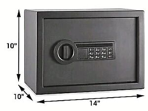 DIGITAL SAFE (NEW) - changeable combination & 2 master keys