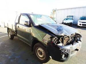 ***Now Wrecking 2009 Toyota Hilux Utility 4 Cylinder – RWD*** Coopers Plains Brisbane South West Preview