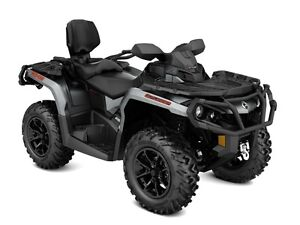 2017 Can-Am Outlander MAX XT 850 Brushed Aluminum