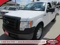 2011 Ford F-150 WORK READY XL MODEL 3 PASSENGER TWO-WHEEL DRIVE.