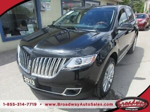2013 Lincoln MKX LOADED AWD EDITION 5 PASSENGER 3.7L - V6.. LEAT