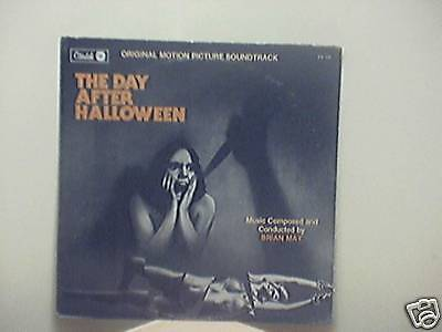 The Day After Halloween-1981-Australia Original Movie Soundtrack-Record - Halloween Soundtrack 1981