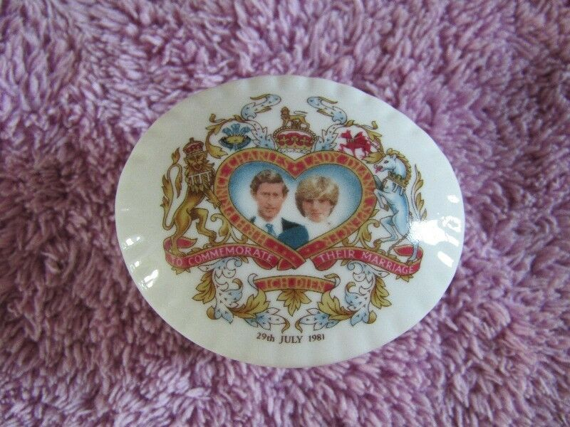 Limited Edition Jewelry case to Commemorate HRH Prince Charles & Lady Diana Marriage 29 July 1981