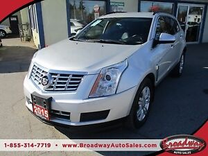 2015 Cadillac SRX LOADED 'SPORTY' 5 PASSENGER 3.6L - V6.. LEATHE