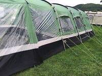 Tent and trailer