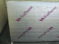 80mm thick ecotherm insulation 1.2 x 2.4m sheet