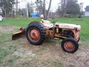 Ford 8n w/blade and  plow