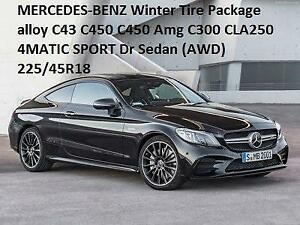 MERCEDES-BENZ Winter alloy C43 C450 C450 Amg C300 CLA250 4MATIC SPORT Dr Sedan (AWD) 225/45R18