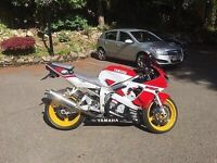 YAMAHA R6 With LOW MILES!!!!