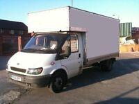 **MAN AND LUTON VAN** SINGLE ITEMS FROM £8** REMOVALS* DELIVERIES* CLEARANCES*