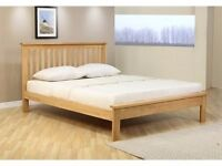 5ft Kingsize Orchard Bed - Oak - Was £339.99 Now £100