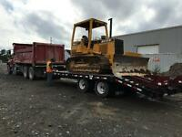 Dozer,Loader, Grader & Dump Truck for rent with operator.