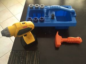 Fisher Price drill set Tapping Wanneroo Area Preview