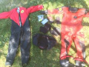 Viking HD Comercial Dry suit Kawartha Lakes Peterborough Area image 1