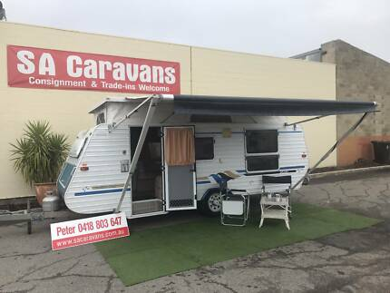 Galaxy Series 2 Low Tow Pop Top Caravan