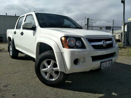 2008 Holden Colorado RC LX (4x2) White 4 Speed Automatic Crew Cab P/Up