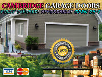 Cambridge ON Garage Door Repair & Installation Service