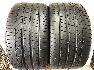 Set of 2 285/30/19  Pirelli  80% tread