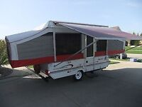 Jayco Eagle Tent trailer with Slide out